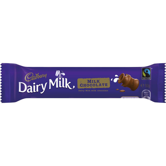 DAIRY MILK CHOCOLATE 50G X 48