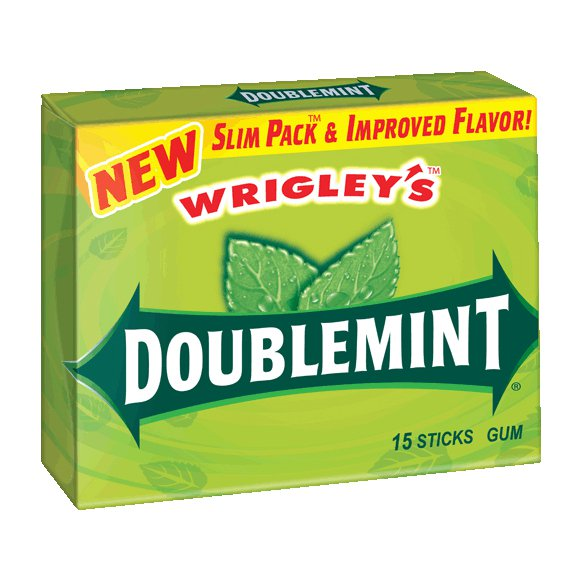 DOUBLEMINT USA 15 STICKS X 10