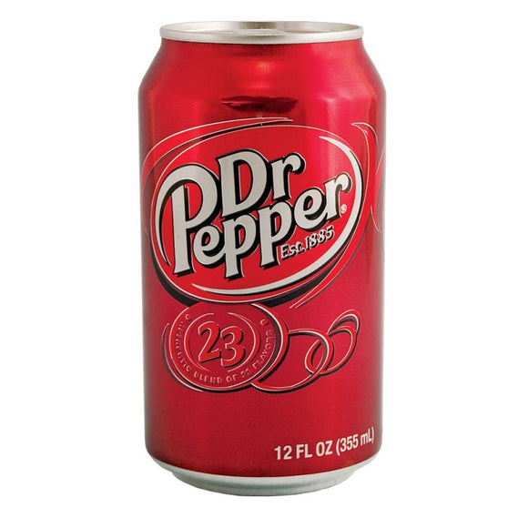 DR PEPPER 355ML X 12