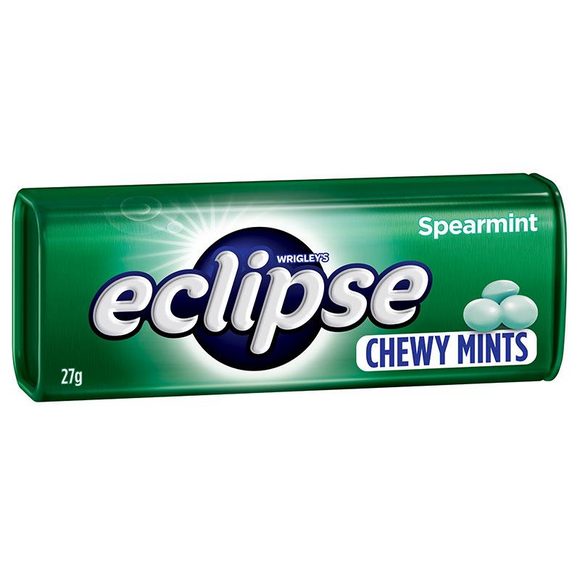 ECLIPSE CHEWY MINTS SPEARMINT 27G X 20