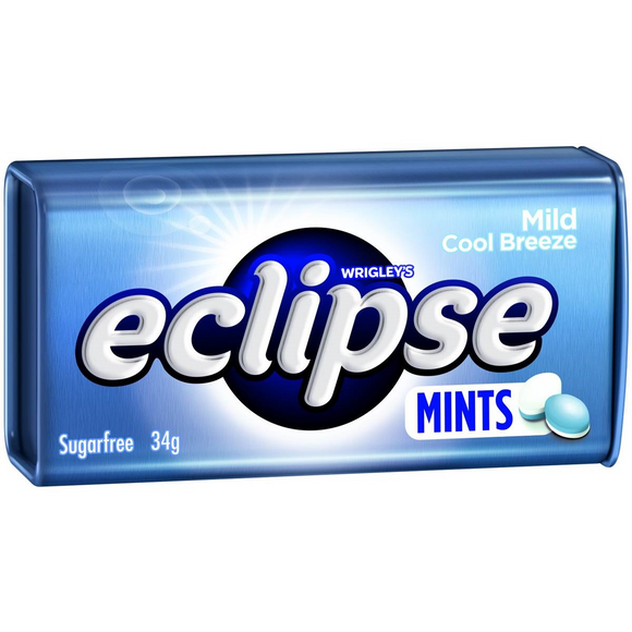 ECLIPSE MINTS COOL BREEZE 34G X16