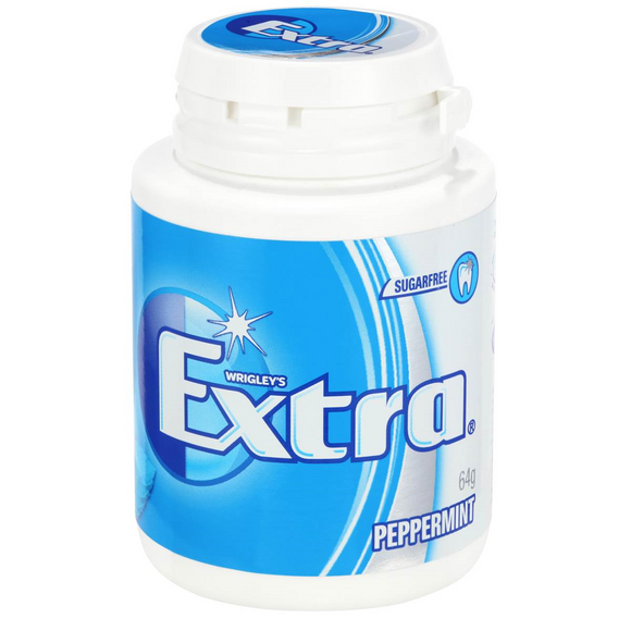 EXTRA BOTTLE PEPPERMINT  64G X 6