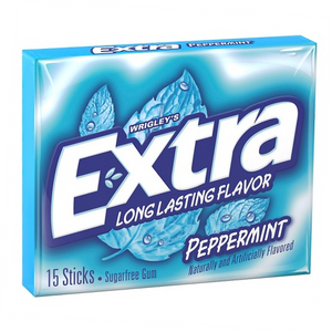 EXTRA PEPPERMINT 15 STICKS X 10