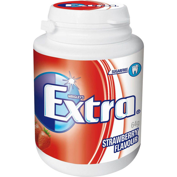 EXTRA BOTTLE STRAWBERRY 64G X 6