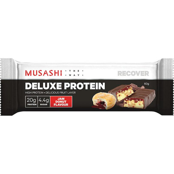 MUSASHI DELUXE PROTEIN JAM DONUT 60G X 12