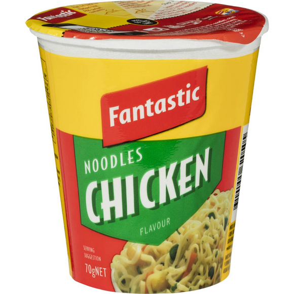 FANTASTIC CUP CHICKEN 70G X12