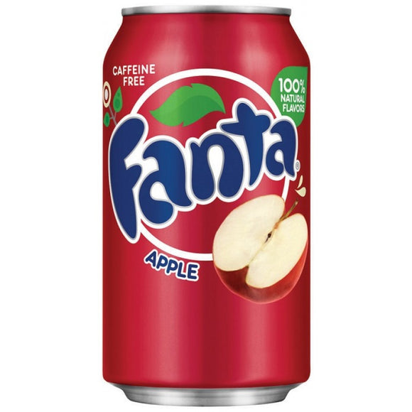 FANTA APPLE SODA 355ML X 12