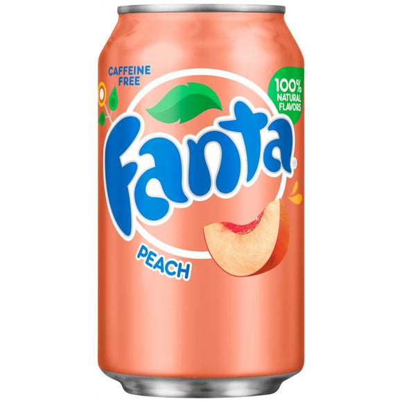 FANTA PEACH 355ML X 12