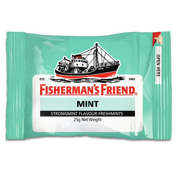 FISHERMAN'S FRIEND STRONGMINT 25G X12