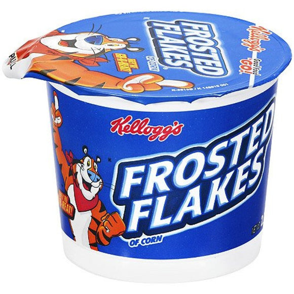 FROSTED FLAKES CUPS 60G X 6