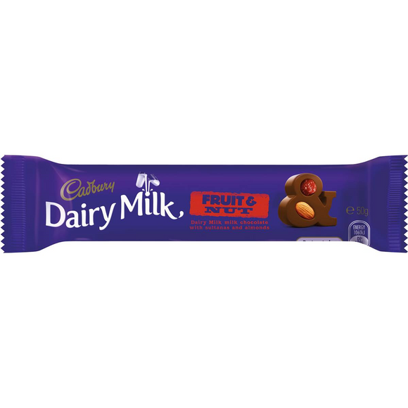 FRUIT & NUT 50G X 42