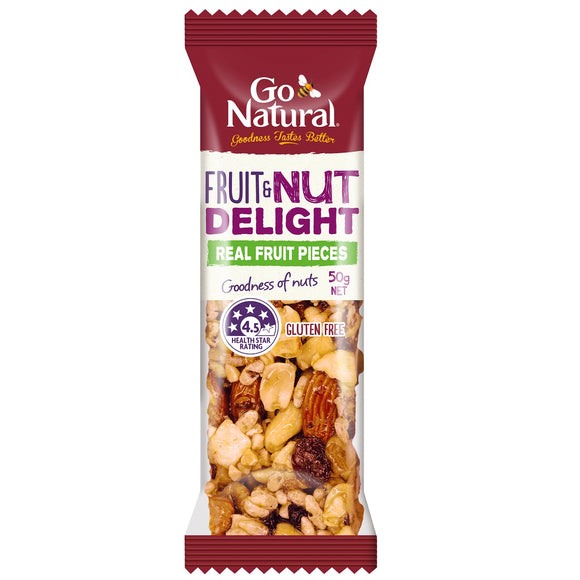 GO NATURAL FRUIT & NUT DELIGHT 50G X 16
