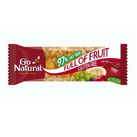 GO NATURAL FULL OF FRUIT 35G X 12