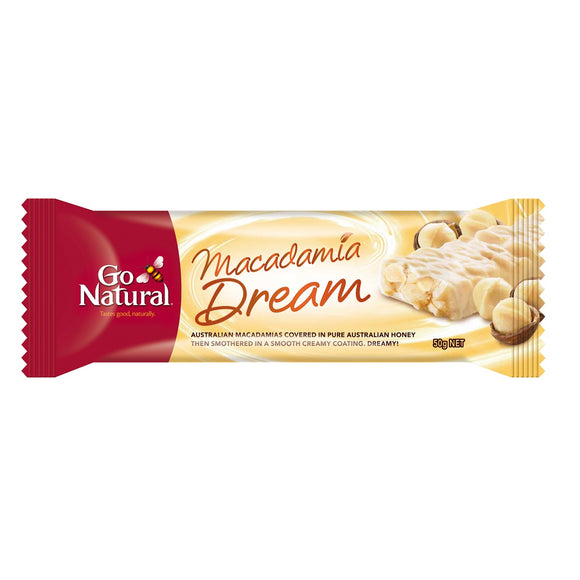 GO NATURAL MACADAMIA DREAM 50G X 16