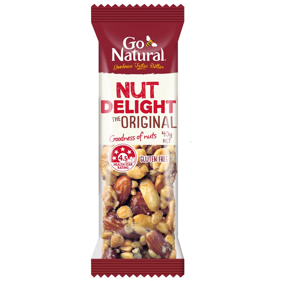 GO NATURAL NUT DELIGHT 40G X16