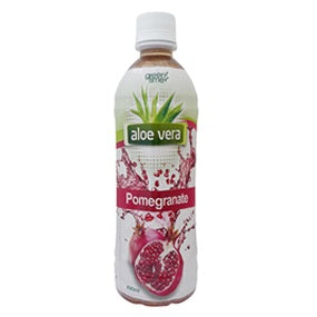 GREEN TIME ALOE VERA POMEGRANATE 490ML X24