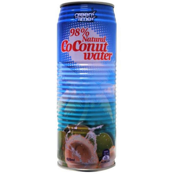 GREEN TIME COCONUT WATER 520ML X 24