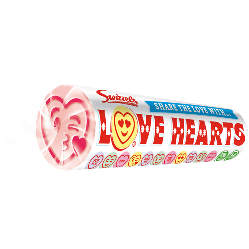SWIZZELS GIANT LOVE HEARTS 39G X 24
