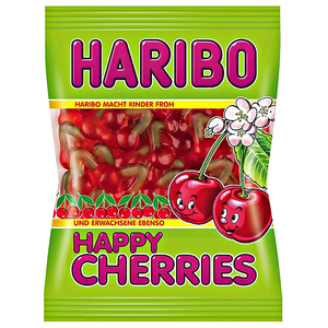 HARIBO HAPPY CHERRIES 142G X 12