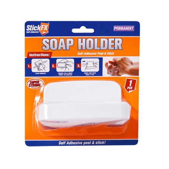 SELF ADHESIVE SOAP HOLDER