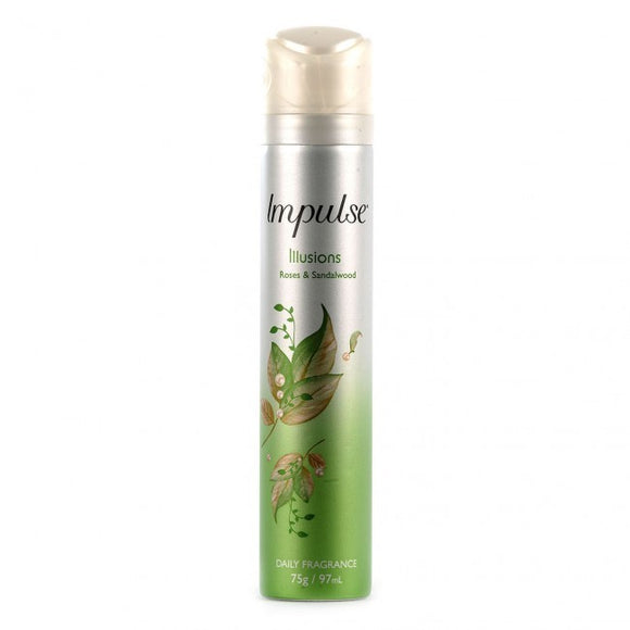 IMPULSE DEO ILLUSIONS 75G X 6