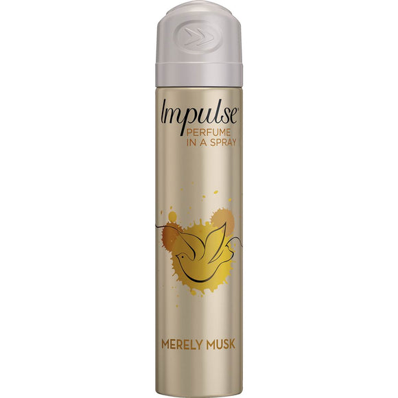 IMPULSE DEO MERELY MUSK 75G X 6