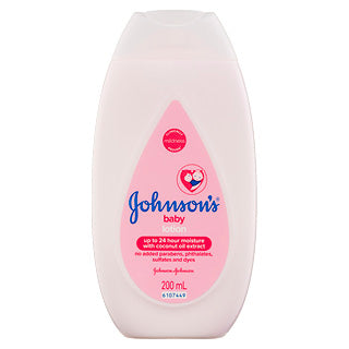 JOHNSONS BABY LOTION 200ML X 6