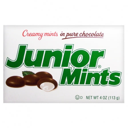 JUNIOR MINTS BOXES 113G X 12