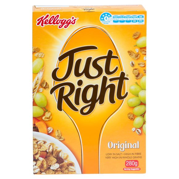 JUST RIGHT ORIGINAL 280G X12