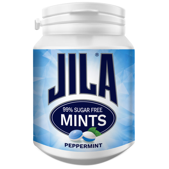 JILA PEPPERMINT MINTS BOTTLES 72G X 6