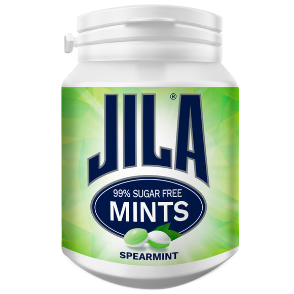 JILA SPEARMINT MINTS BOTTLES 72G X 6