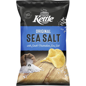 KETTLE ORIGINAL SEA SALT 175G X 12