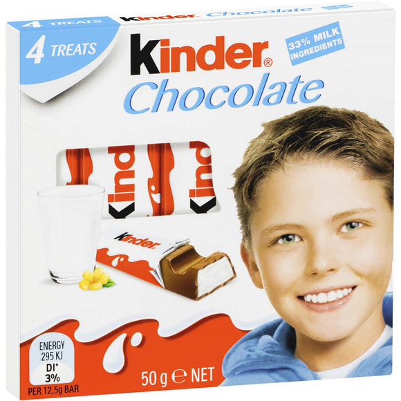 KINDER CHOCOLATE LITTLE ONES T4 50G X 20