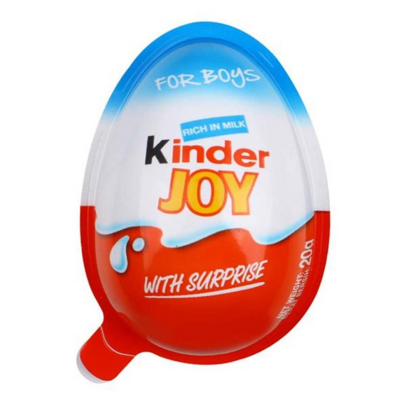 KINDER JOY BOY 20G X 24