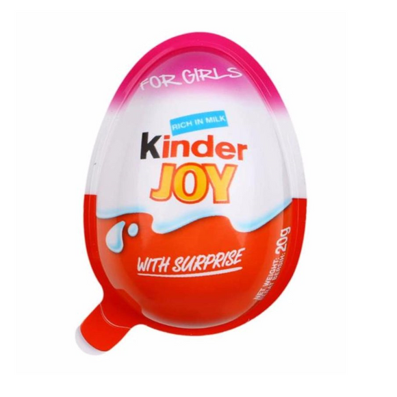 KINDER JOY GIRL 20G X 24
