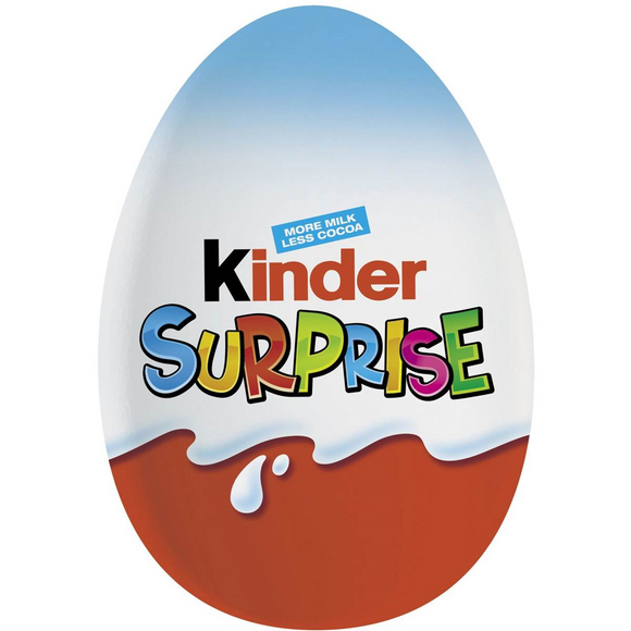 KINDER SURPRISE BLUE T48 X 20G
