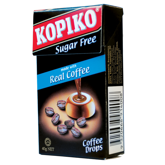KOPIKO COFFEE DROPS 40G X 18