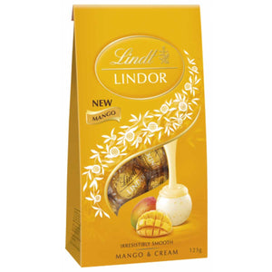 LINDOR SHARING BAG MANGO & CREAM 123G X 8