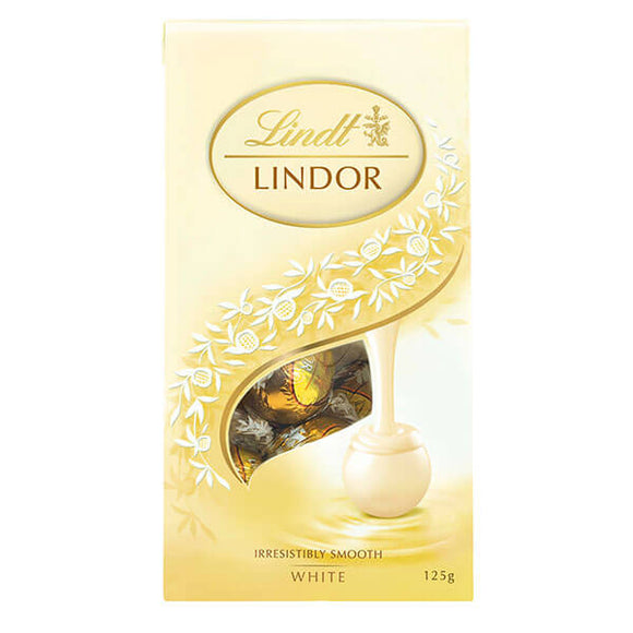 LINDOR SHARING BAG WHITE 125G X 8
