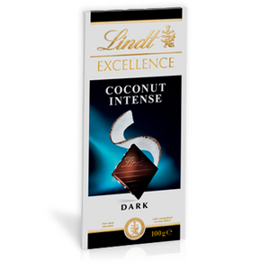LINDT EXCELLENCE DARK COCONUT 100G X 20