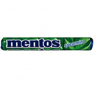 MENTOS SPEARMINT ROLL 37.5G X 40