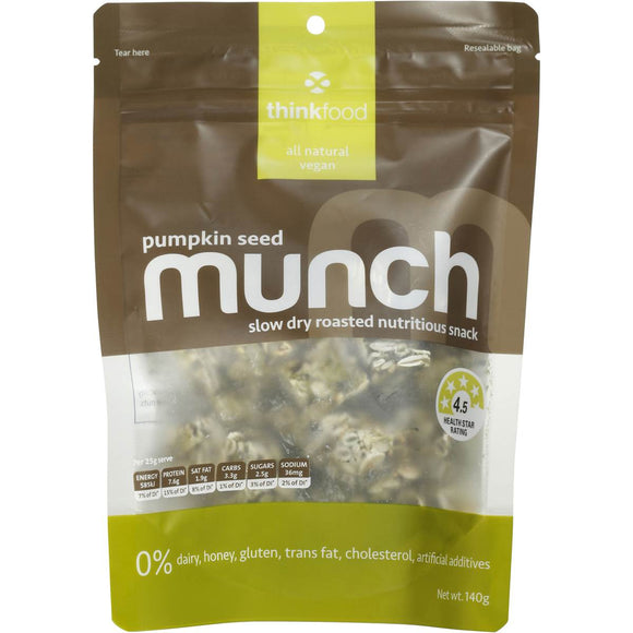 MUNCH PUMPKIN SEED 140G X 6