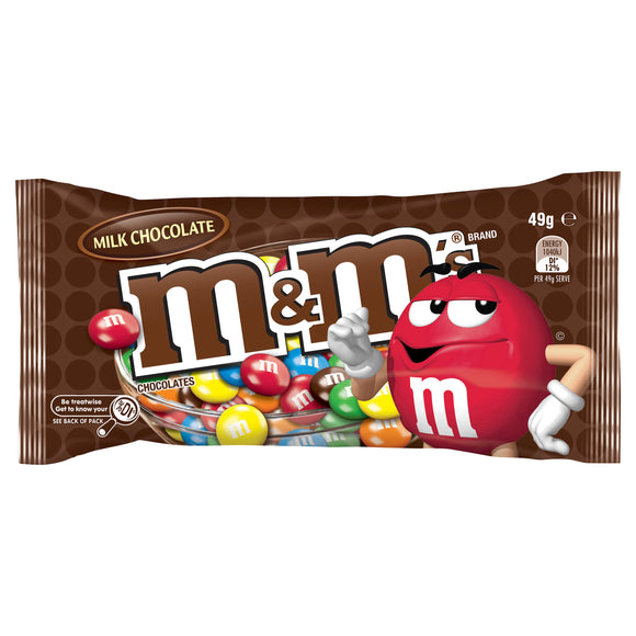 M&M'S MILK CHOC 49G X 12