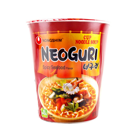 NONGSHIM NEOGURI SPICY SEAFOOD 62G X6