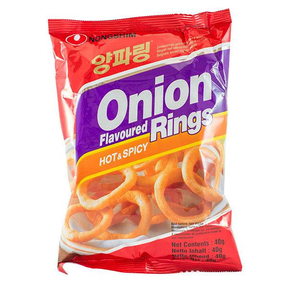 ONION RINGS HOT & SPICY 40G X 20