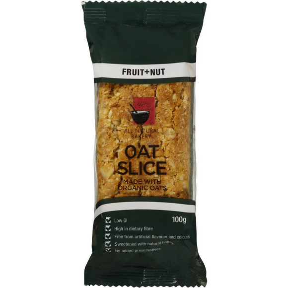 OAT SLICE FRUIT & NUT 100G X 14