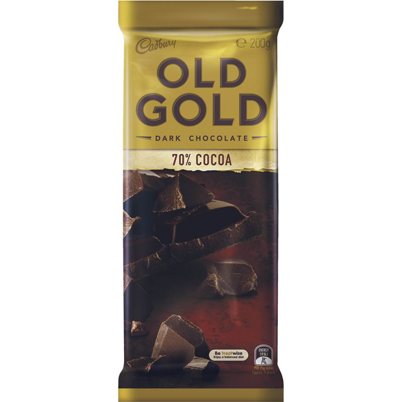 OLD GOLD 70% COCOA  180G X 16