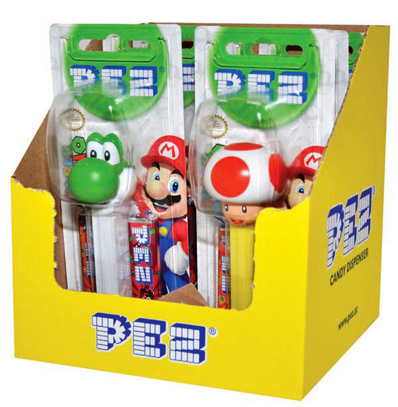 PEZ DISPENSER NINTENDO 17G X 6