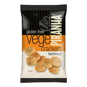 PIRANHA VEGE BARBEQUE100G X 12