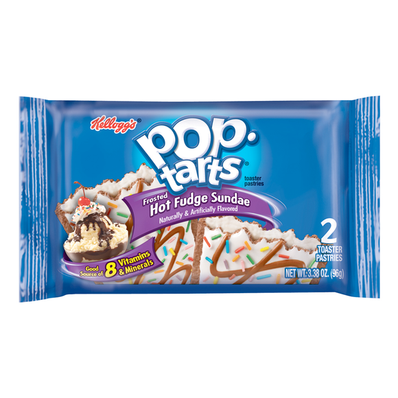 POP TARTS HOT FUDGE 104G X6
